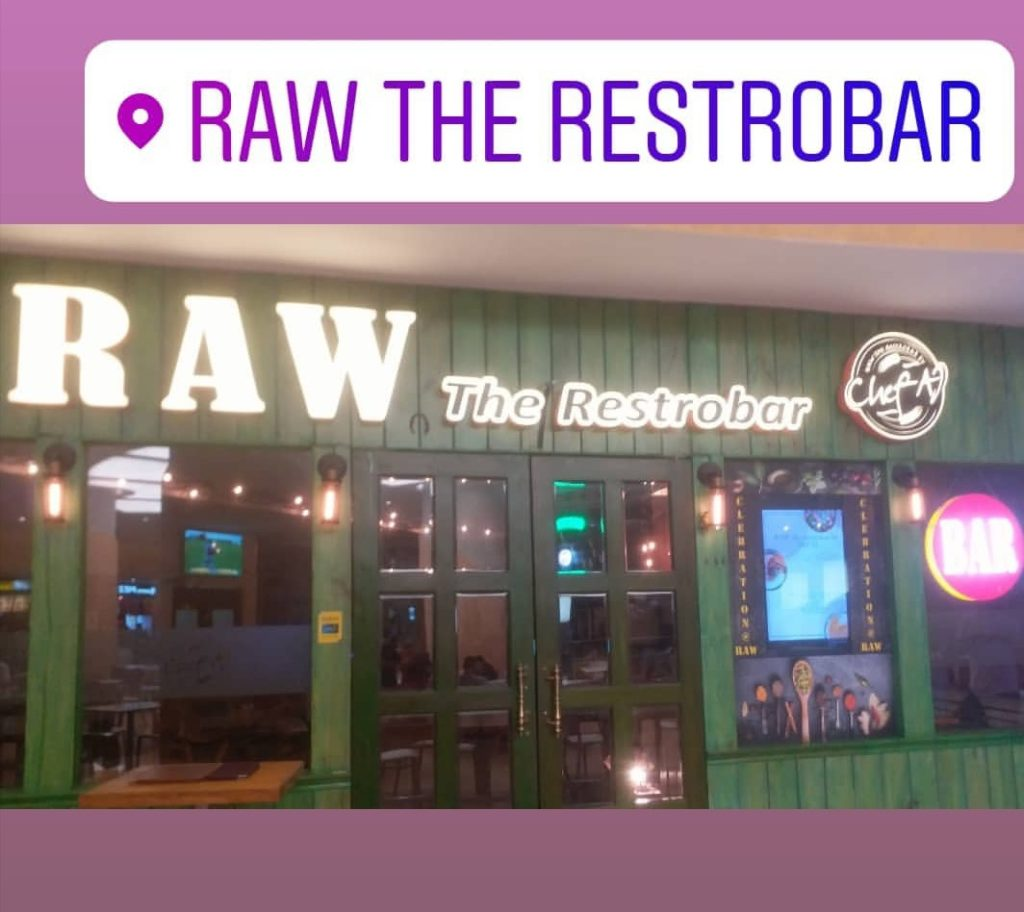 raw the restrobar by chef aj