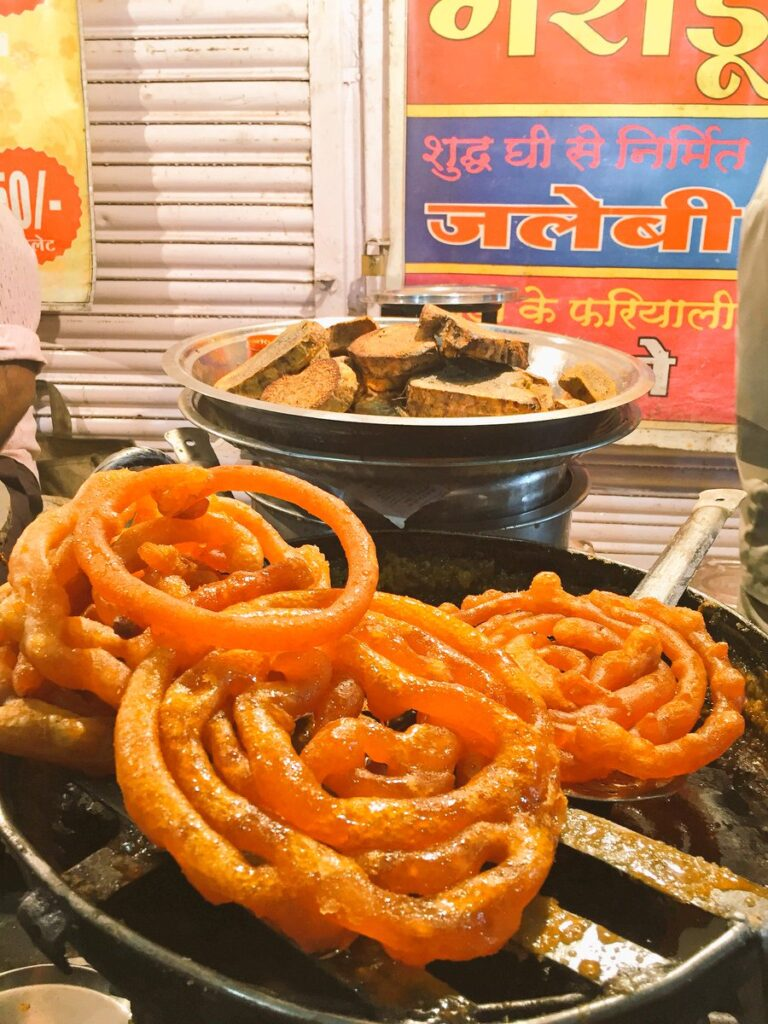 Jalebi - Famous Street Food in Indore, Madhya Pradesh